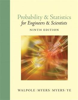 Probability and Statistics for Engineers and Scientists (9th Edition) 9780321629111