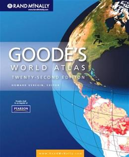 Goodes World Atlas 22 9780321652003