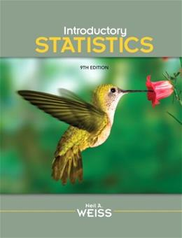 Introductory Statistics Edition 9 9 w/CD 9780321691224