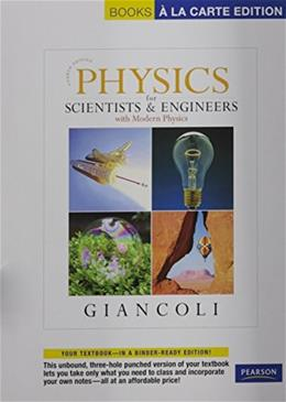 Physics for Scientists and Engineers with Modern Physics, by Giancoli, 4th Books a la Carte Edition 4 PKG 9780321712592
