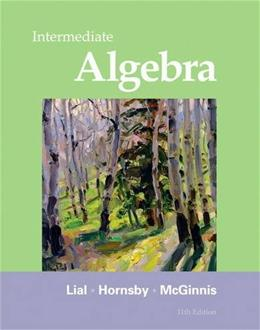 Intermediate Algebra (11th Edition) 9780321715418