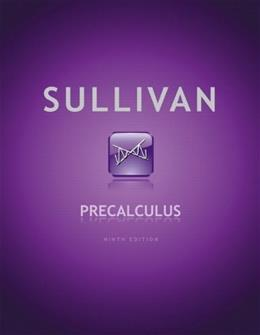 Precalculus (9th Edition) 9780321716835