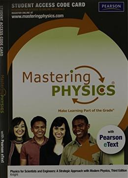 Masteringphysics for Physics for Scientists and Engineers Modern Physics, by Pearson, 3rd Edition, ACCESS CODE ONLY 3 PKG 9780321753052