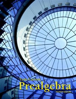 Prealgebra (4th Edition) 9780321756954
