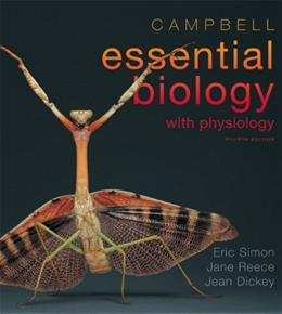Campbell Essential Biology with Physiology, by Simon, 4th Edition 4 PKG 9780321763327