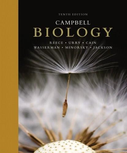 Biology, by Campbell, 10th Edition 9780321775658