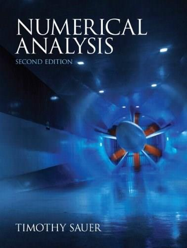 Numerical Analysis, 2nd Edition 9780321783677
