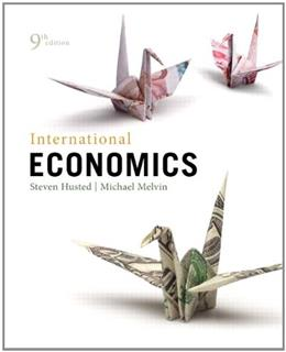 International Economics (9th Edition) (The Pearson Series in Economics) 9780321783868