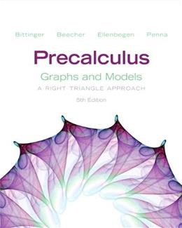 Precalculus: Graphs and Models 5 9780321783967