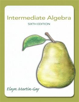 Intermediate Algebra (6th Edition) 9780321785046