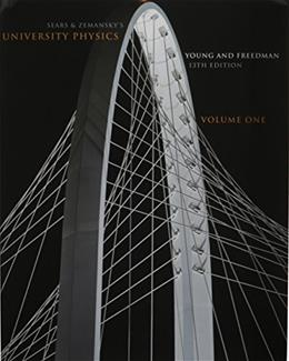 University Physics, by Young, 13th Edition, Volume 1: Chapters 1-20 13 PKG 9780321785916