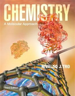 Chemistry: A Molecular Approach Plus MasteringChemistry with eText -- Access Card Package (3rd Edition) 3 PKG 9780321804716