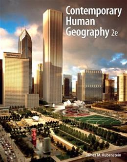 Contemporary Human Geography (2nd Edition) 9780321811127