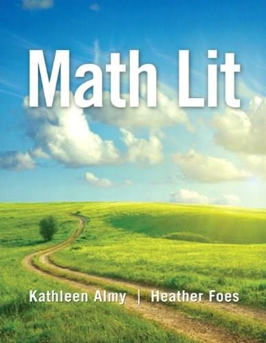 Math Lit: A Pathway to College Mathematics, by Almy 9780321818454