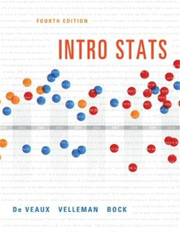 Intro Stats (4th Edition) 4 w/CD 9780321825278