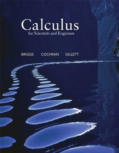Calculus for Scientists and Engineers 1 9780321826695