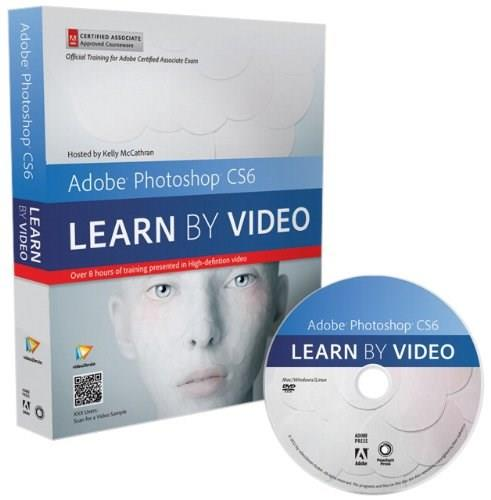 Adobe Photoshop CS6: Learn by Video: Core Training in Visual Communication, by McCathran BK w/CD 9780321840714