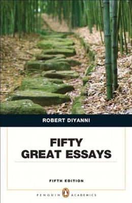 50 Great Essays, by DiYanni, 5th Edition 9780321848499