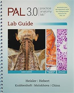 Practice Anatomy Lab 3.0 Lab Guide, by Heisler BK w/DVD 9780321857675
