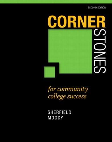 Cornerstones for Community College Success (2nd Edition) 9780321860590