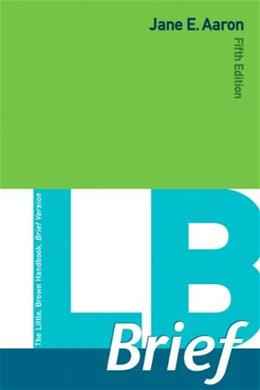 LB  Brief with Tabs, by Aaron, 5th Edition 9780321872562