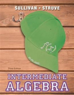 Intermediate Algebra (3rd Edition) 9780321880123