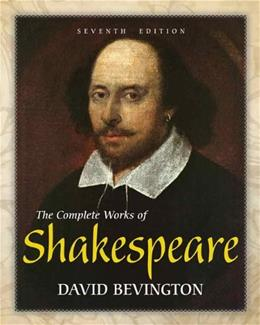 The Complete Works of Shakespeare (7th Edition) 9780321886514
