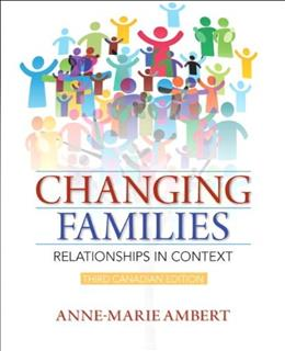 Changing Families : Relationships in Context 3 9780321901637