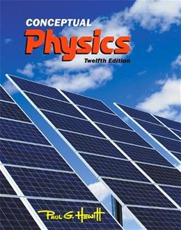 Conceptual Physics (12th Edition) 9780321909107