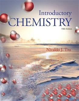 Introductory Chemistry Plus MasteringChemistry with eText -- Access Card Package (5th Edition) (New Chemistry Titles from Niva Tro) 5 PKG 9780321910073
