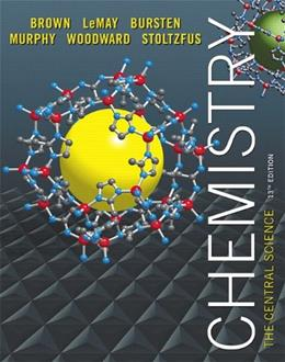 Chemistry: The Central Science (13th Edition) 9780321910417