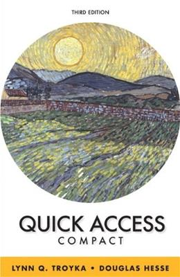 Quick Access Brief, by Troyka, 3rd Edition 9780321914071