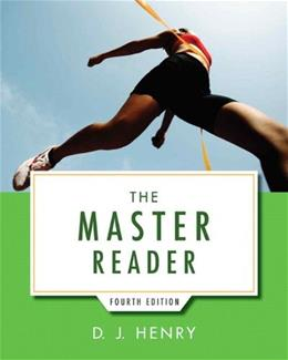 Master Reader, by Hentry, 4th Edition 9780321916778