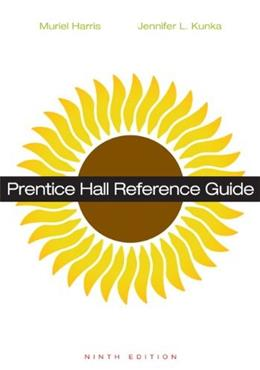 Prentice Hall Reference Guide (9th Edition) 9780321921314