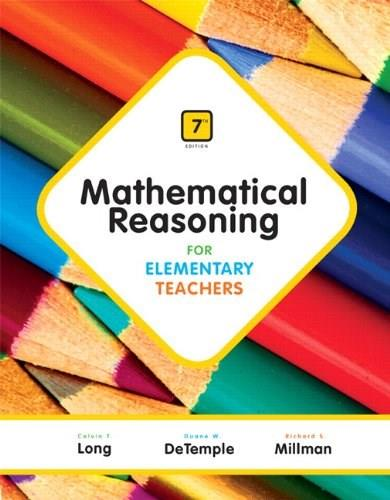 Mathematical Reasoning for Elementary Teachers Plus NEW MyLab Math with Pearson eText -- Access Card Package (7th Edition) 7 PKG 9780321923240