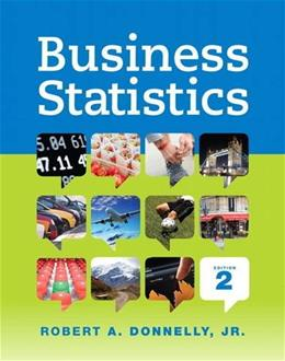 Business Statistics (2nd Edition) 9780321925121