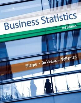 Business Statistics (3rd Edition) 9780321925831