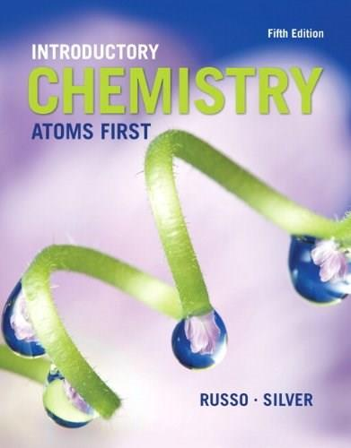 Introductory Chemistry: Atoms First (5th Edition) 9780321927118