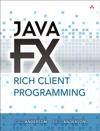 JavaFX Rich Client Programming on the NetBeans Platform 9780321927712