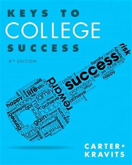 Keys to College Success (8th Edition) (Keys Franchise) 9780321929242