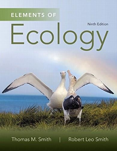 Elements of Ecology (9th Edition) 9780321934185