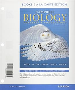 Campbell Biology: Concepts & Connections, Books a la Carte Plus Modified Mastering Biology with eText -- Access Card Package (8th Edition) 8 PKG 9780321941916
