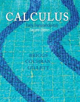 Calculus: Early Transcendentals (2nd Edition) 9780321947345