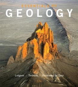Essentials of Geology (12th Edition) 9780321947734