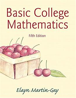 Basic College Mathematics (5th Edition) 9780321950970