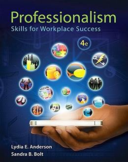Professionalism: Skills for Workplace Success (4th Edition) 9780321959447