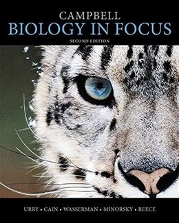 Campbell Biology in Focus, by Urry, 2nd Edition 2 PKG 9780321962584