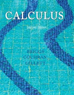 Calculus, by Briggs, 2nd Edition 2 PKG 9780321963635