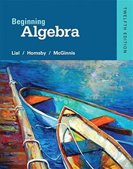 Beginning Algebra (12th Edition) 9780321969330