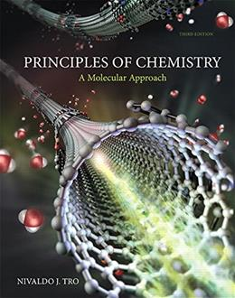 Principles of Chemistry: A Molecular Approach Plus Mastering Chemistry with eText -- Access Card Package (3rd Edition) (New Chemistry Titles from Niva Tro) 3 PKG 9780321971166